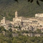 The medieval town of Serra San Quirico